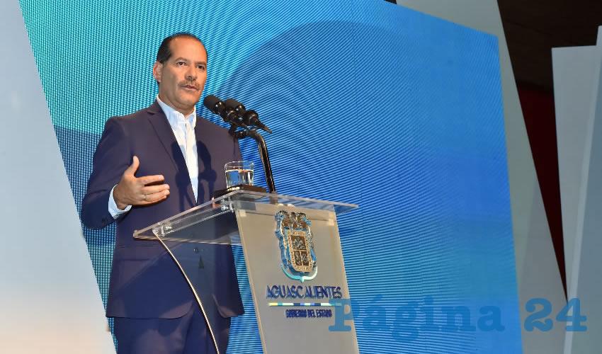 MOS presentó los resultados de los primeros 10 meses de su gobierno para lograr un Aguascalientes educado, integrado y equitativo