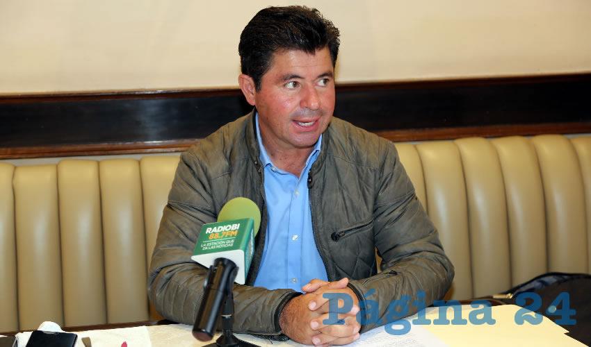 Jorge López Martín, diputado federal (Foto: Eddylberto Luévano Santillán)
