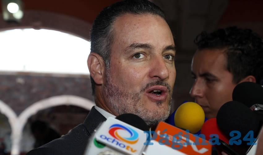 René Urrutia de la Vega ...sorprendido por tanta corrupción...