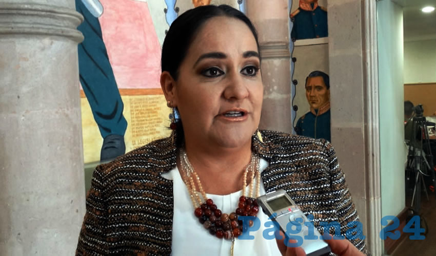 Nidia Acosta Lozano, legisladora local