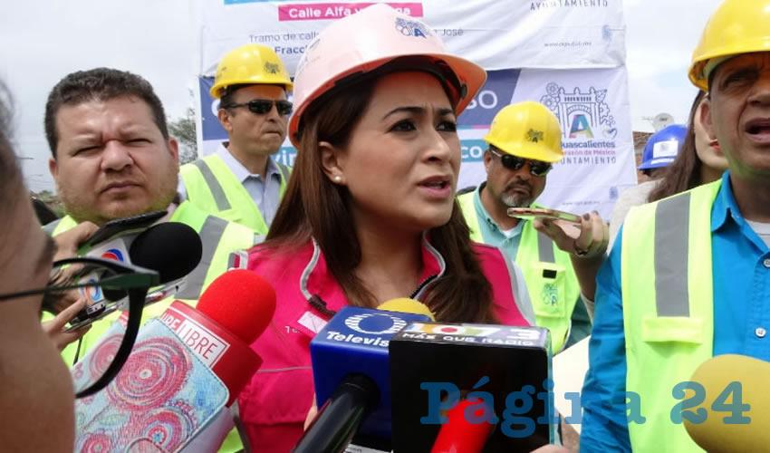 Teresa Jiménez Esquivel, presidenta municipal de Aguascalientes
