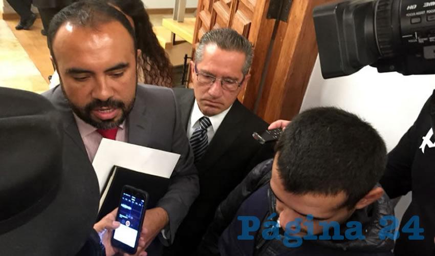 Héctor Alvarado, el flamante jefe de comunicación social del Gobernador (Foto: Rocío Castro Alvarado)