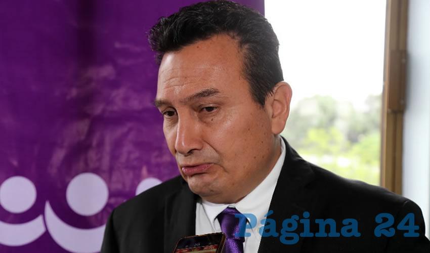 Jesús Morquecho Valdez, presidente del CDE del PES