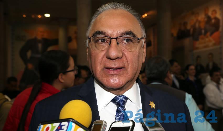 Sergio Alberto Martínez Castuera, secretario de Seguridad Pública del Estado