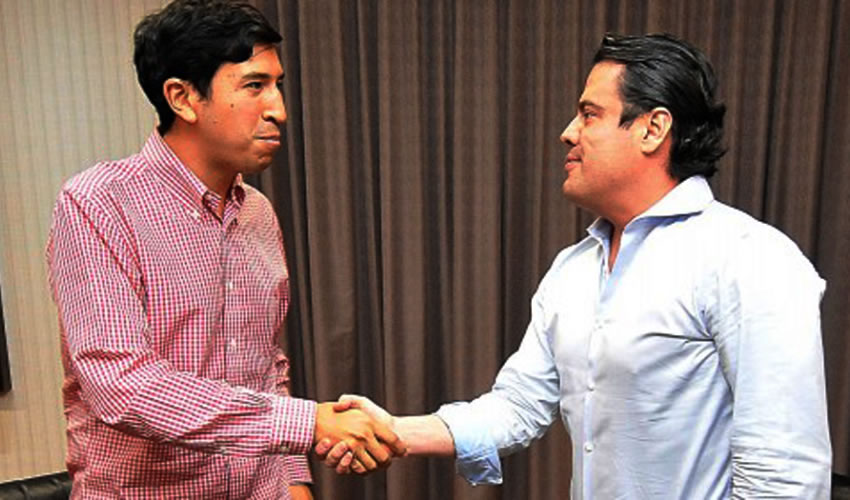 Pedro Kumamoto Aguilar y Aristóteles Sandoval Díaz ...sospechosa y peligrosa relación...