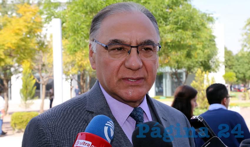 Sergio Alberto Martínez Castuera, secretario de Seguridad Pública Estatal