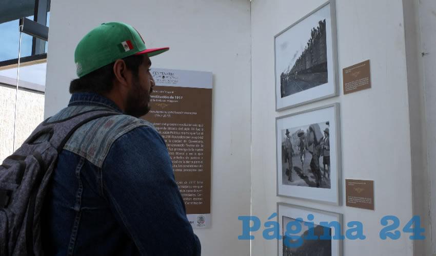 En estas fotografías se puede apreciar el contexto que se vivía por la Revolución Mexicana, en donde se pueden ver hombres armados, pertenecientes a los distintos ejércitos que luchaban en el país. (Foto Merari Martínez Castro)