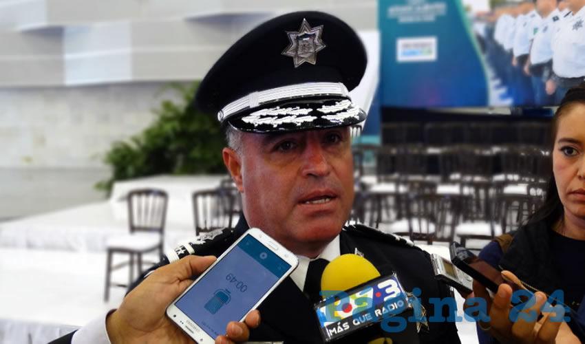Antonio Martínez Romo, titular de la Policía Municipal