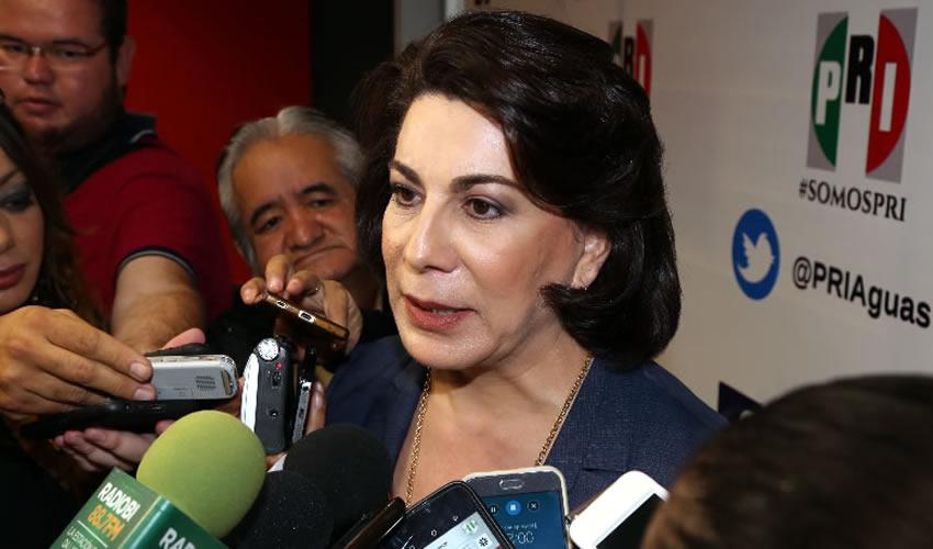 Lorena Martínez, dirigente nacional del MT del PRI