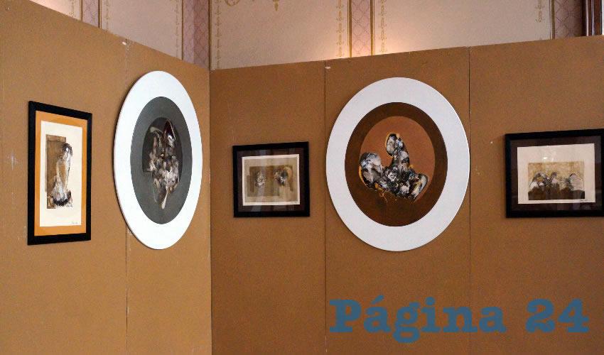 Artista Plástico Omar Lemus Expone 22 Obras de Arte Abstracto