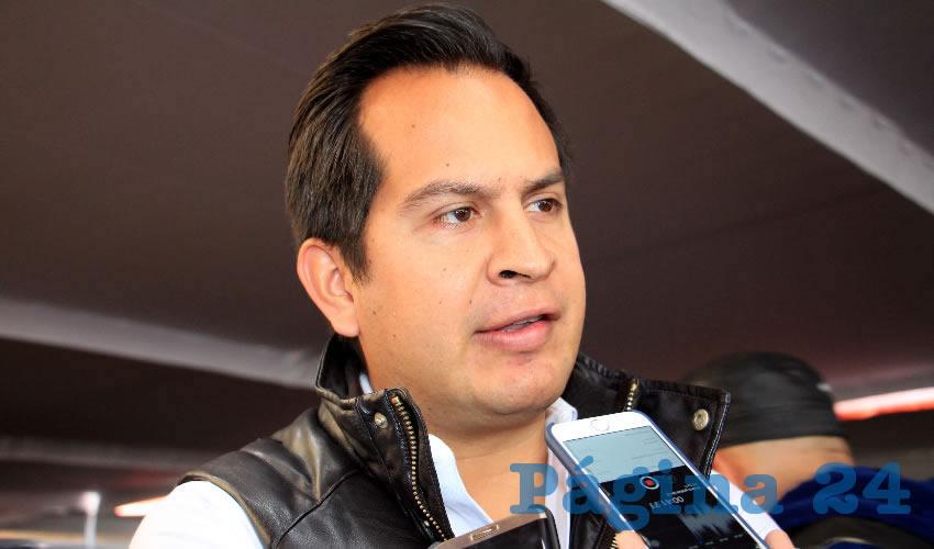 Víctor Legaspi, titular de la Cámara Nacional de la Industria de Restaurantes y Alimentos Condimentados (Canirac) (Foto: Rocío Castro Alvarado)