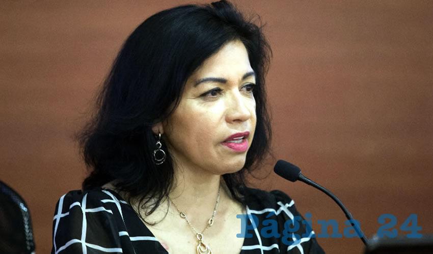 """""""El delito de tortura sexual contra las mujeres es el delito de moda; antes era una violación, pero hoy, cuando caemos en feminicidio, es juntar violación con tortura, con violencia extrema y a su vez, la pérdida de la vida de alguien"""", manifestó María Carmela Chávez Galindo, experta de la UdeG/Foto: Cortesía"""