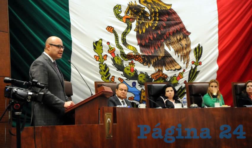 Francisco Murillo Ruiseco, Procurador General de Justicia: 541 asesinatos y 53 secuestros en Zacatecas en lo que va del año (Foto Merari Martínez Castro)