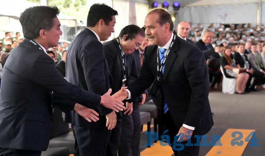 Martín Orozco Sandoval refrendó el compromiso y las acciones de su administración para garantizar las condiciones de inversión en nuestro estado