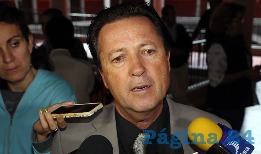 Raúl Silva Perezchica, director general del IEA (Foto: Eddylberto Luévano Santillán)