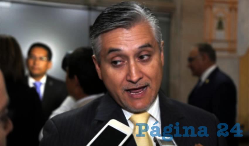 Julio César Medina, secretario del Medio Ambiente