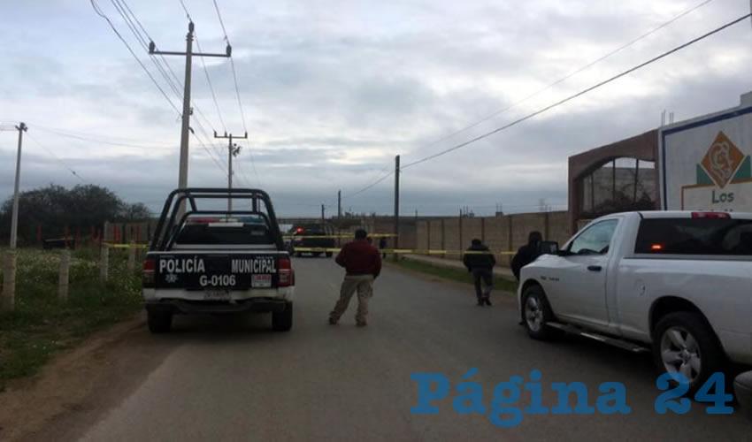 Otra víctima del narco, el cual opera a lo largo y ancho del estado de Zacatecas con total impunidad (Foto: Cortesía)