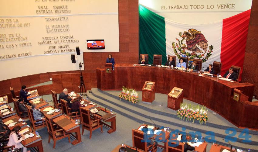 Señaló el titular de Sedesol, que el número de pobreza moderada se ha reducido en Zacatecas, ya que en el año 2010 la cifra alcanzaba el 52.3 por ciento de la población. (Foto Rocío Castro Alvarado)
