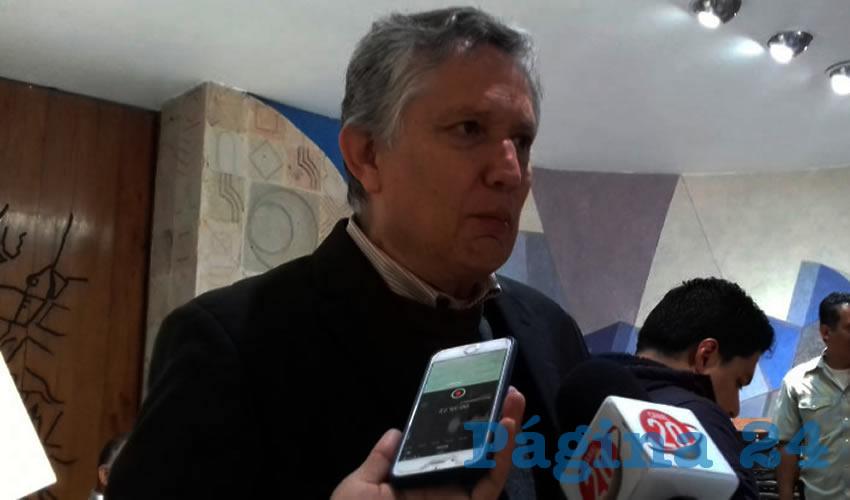 Heladio Verver y Vargas, regidor capitalino (Foto: Alberto Núñez Hernández)