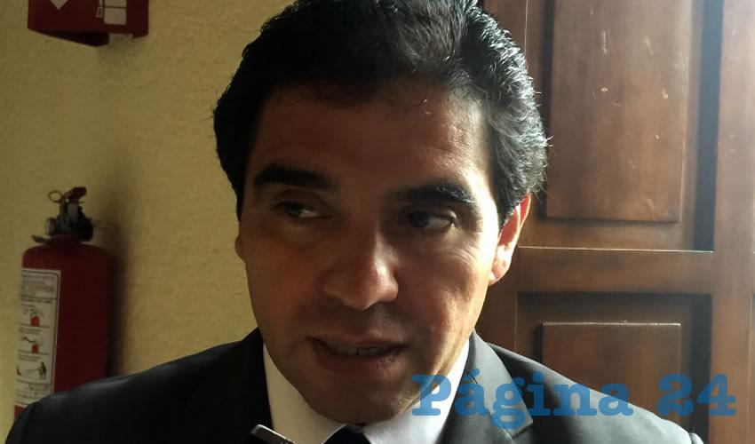 Mario Alberto Ramírez Rodríguez, director de Educación Básica Estatal (Foto Cristo González)