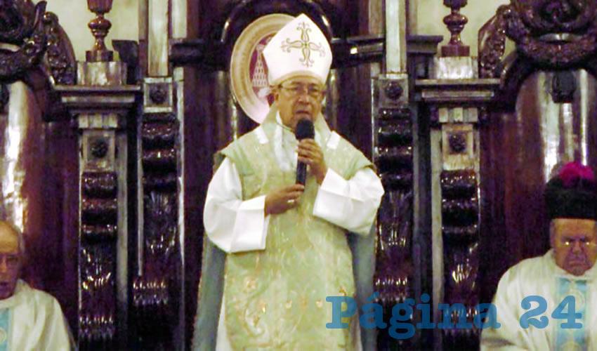 El Egoísmo es Raíz de la Violencia: Obispo