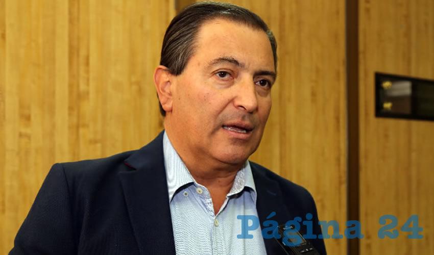 Luis Armando Reynoso Femat, exgobernador del Estado
