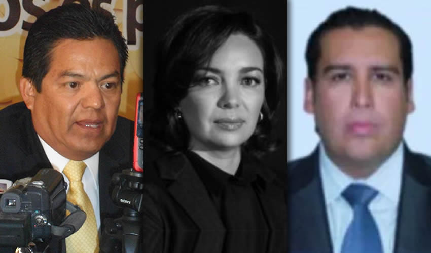 Héctor Salvador Hernández, Claudia Díaz de León y Jorge Díaz de León ...les hizo justicia la Revolución: vivirán como reyes durante varios años...
