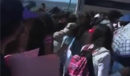 Estudiantes de la UAZ Protestan por el Asesinato de su Compañera Cinthia Nayeli