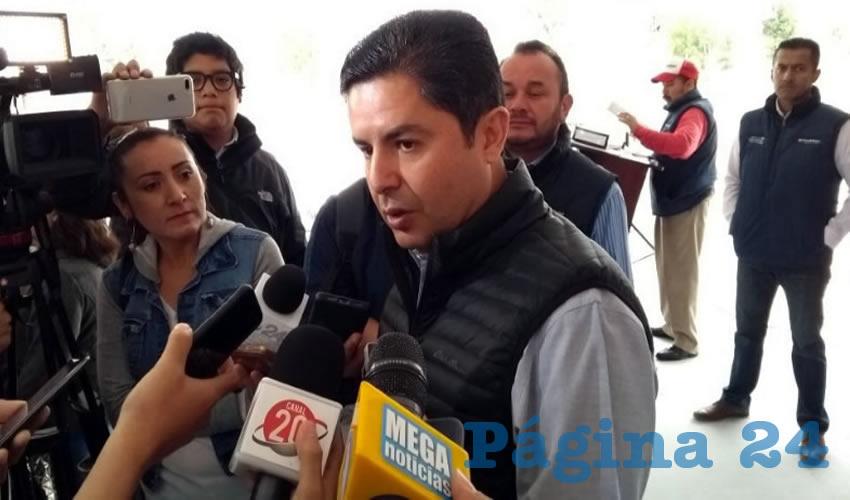 Enrique Flores Mendoza, presidente municipal de Guadalupe