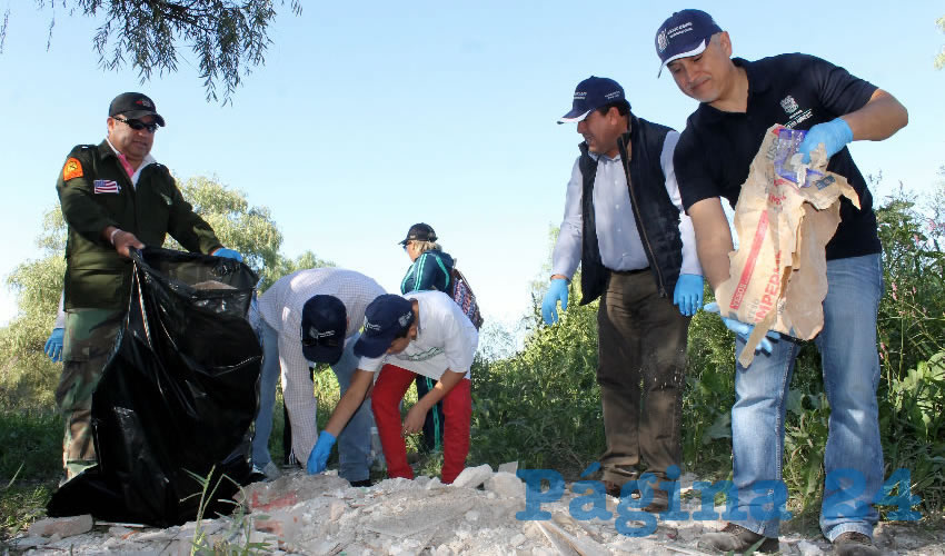 Inicia SMAE Segunda Jornada de Rehabilitación del Río San Pedro