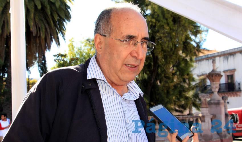 Gilberto Breña Cantú, Secretario de Salud del estado (Foto: Archivo Página 24)