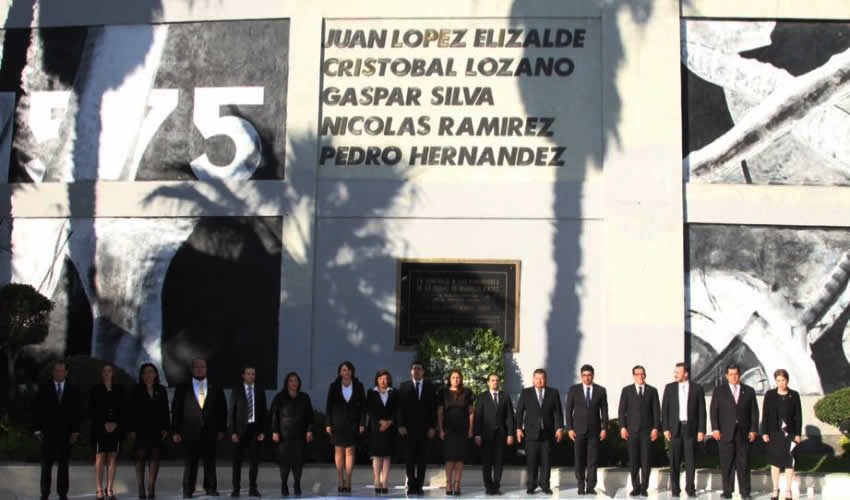 Alcaldesa Tere Jiménez Rinde Tributo a Fundadores de Aguascalientes