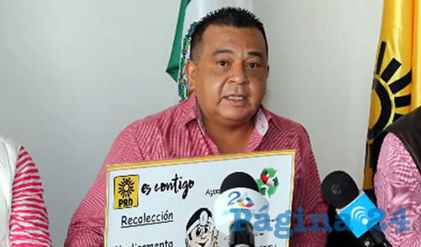 Luis Fernando Canchola, secretario de Finanzas del PRD