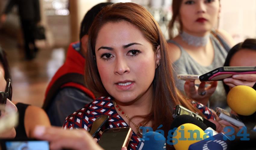Teresa Jiménez Esquivel, alcaldesa de Aguascalientes