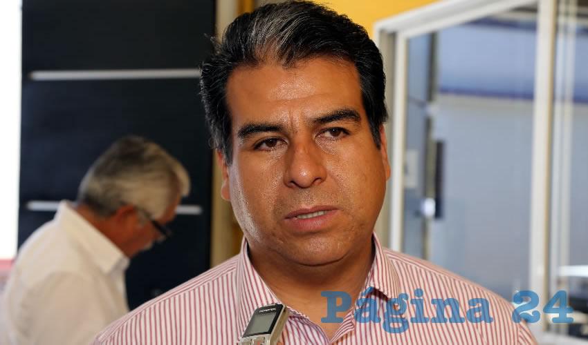 Cuahtémoc Escobedo Tejada, alcalde de Pabellón de Artega