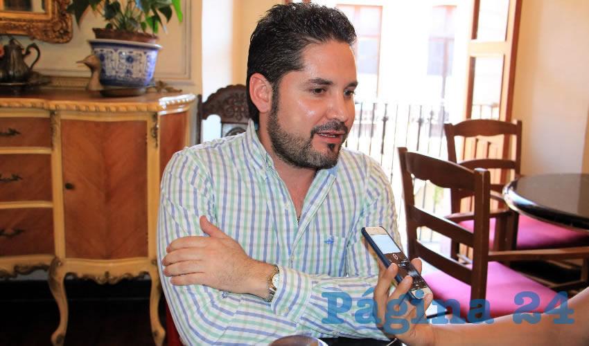Carlos Salmón Buenrostro, contralor del municipio de Guadalupe (Foto: Rocío Castro Alvarado)