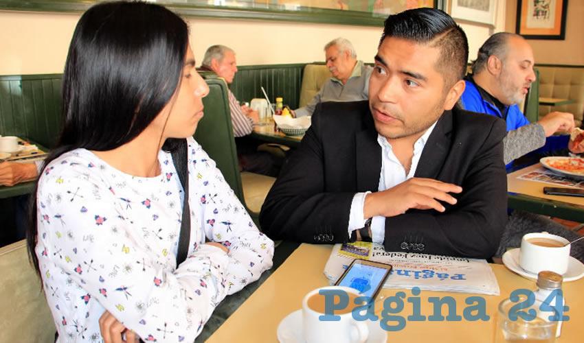 Román Tarango Rodríguez, regidor del ayuntamiento de Guadalupe (Foto Rocío Castro)