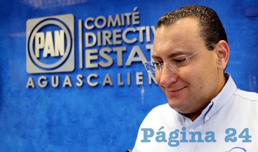 Paulo Martínez López, presidente del PAN