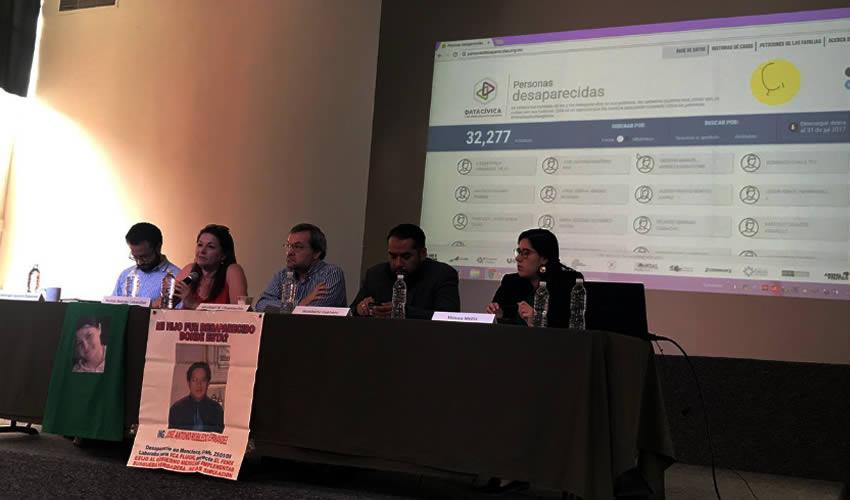Ciudad de México.- La organización civil Data Cívica descifró los nombres de 31 mil 968 desaparecidos (Foto: Tomada de Twitter)