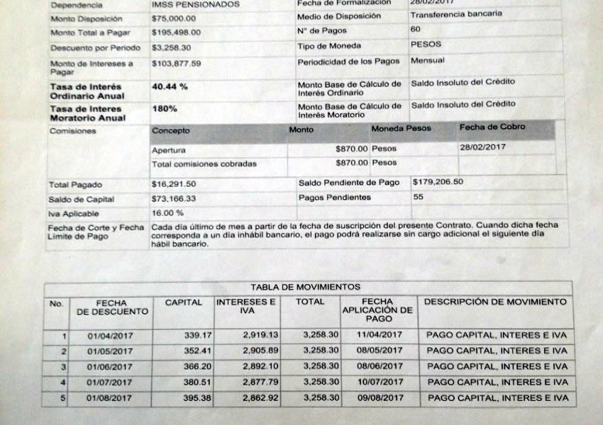 """""""Llegaron a mi domicilio y traían todos mis datos, mis documentos, y no soy el único; llegaron diciendo que yo tenía un préstamo con todos mis datos, la señora me dijo que era una prestación que se les estaba dando a los pensionados"""", sentenció el hombre defraudado/Foto: Francisco Tapia"""
