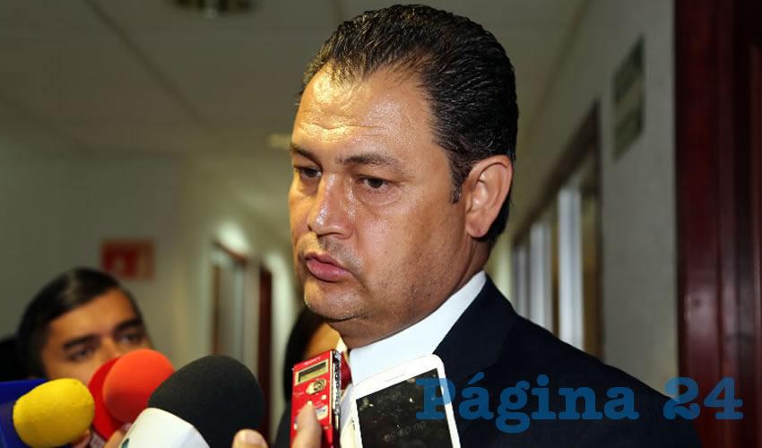 Jaime González de León, legislador local (Foto: Eddylberto Luévano Santillán)