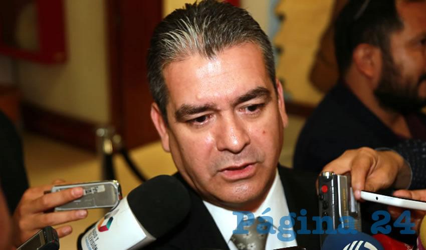 Sergio Escalante Jiménez, titular del Osfags