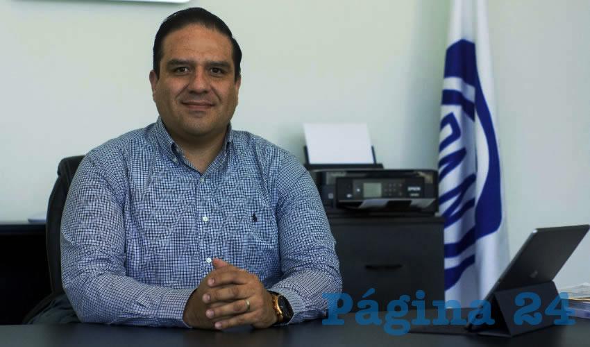 José Juan Sánchez presidente del PAN municipal