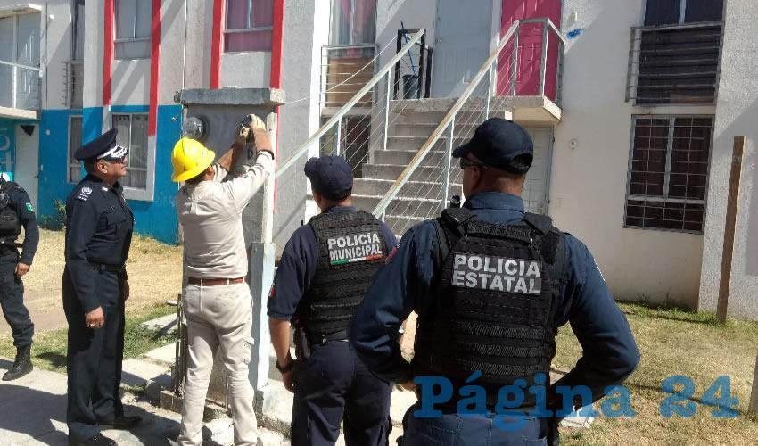 Más de 200 conexiones ilegales de luz eléctrica detectaron en el fraccionamiento Paseos de San Antonio