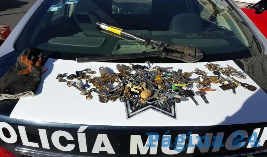 """Arrestan a Caco con más de 100 Llaves """"Trabajadas"""""""