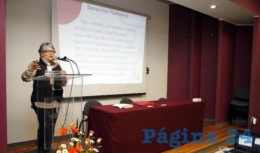 Fue Dictada Conferencia Sobre Derechos Humanos en la UAA