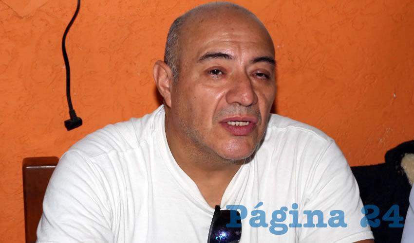 Roberto Serrano Tovar, coordinador de Aguas con la Bici