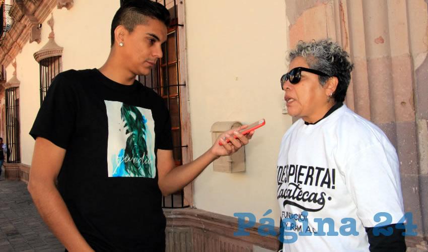 Condena la Maestra Eva que no Existan Carpetas de Asesinatos ni Desaparecidos