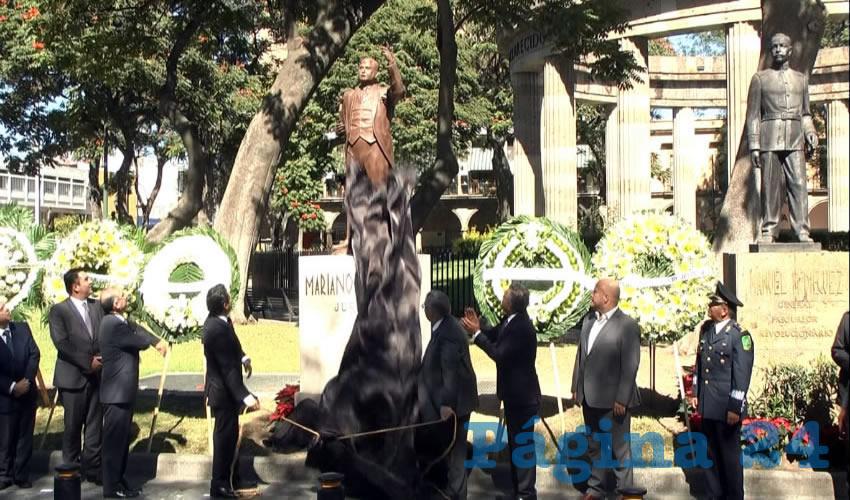 La SCJN rindió homenaje a este abogado y político, por ser un símbolo no sólo del Estado, sino del país, a quien se le considera un defensor de los derechos individuales, la igualdad y siendo jurista, es considerado como uno de los padres del juicio de amparo/Foto: Francisco Andalón López