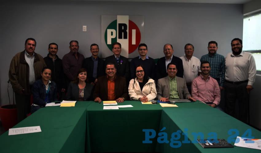 Se instaló formalmente la Comisión Estatal de Justicia Partidaria del PRI en Aguascalientes